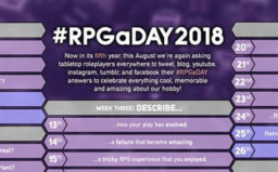 RPGaDAY 2018 #1