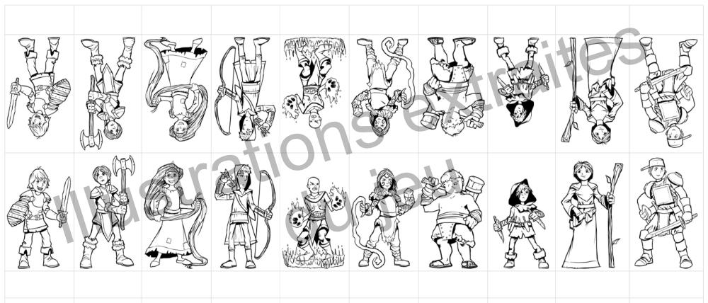 Figurines HeroKids