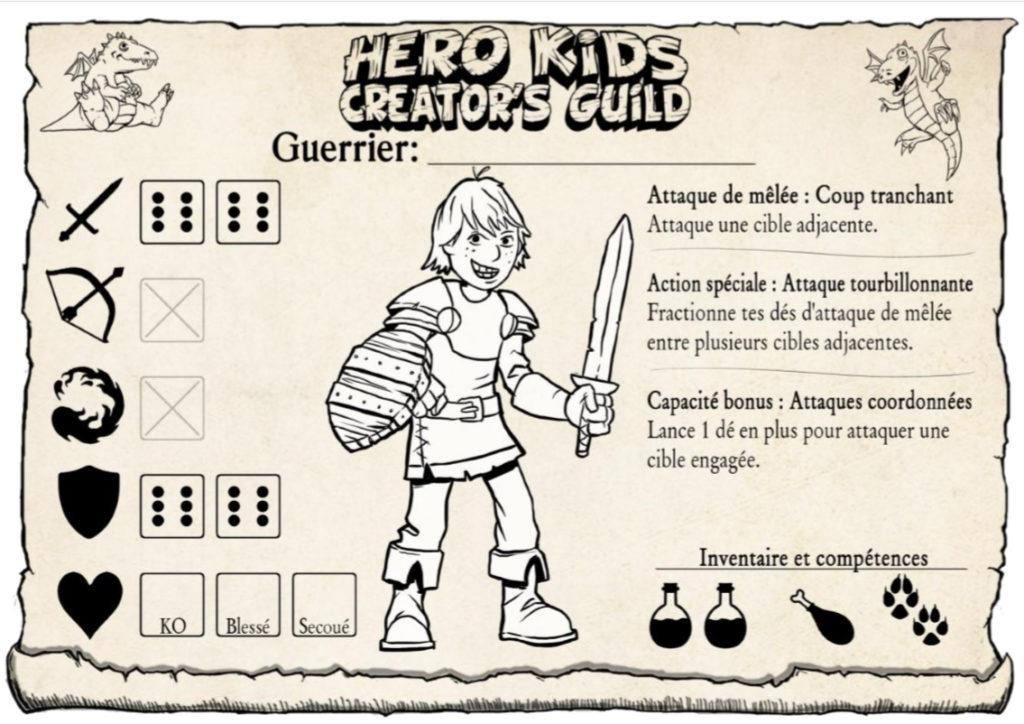 HeroKids, le guerrier